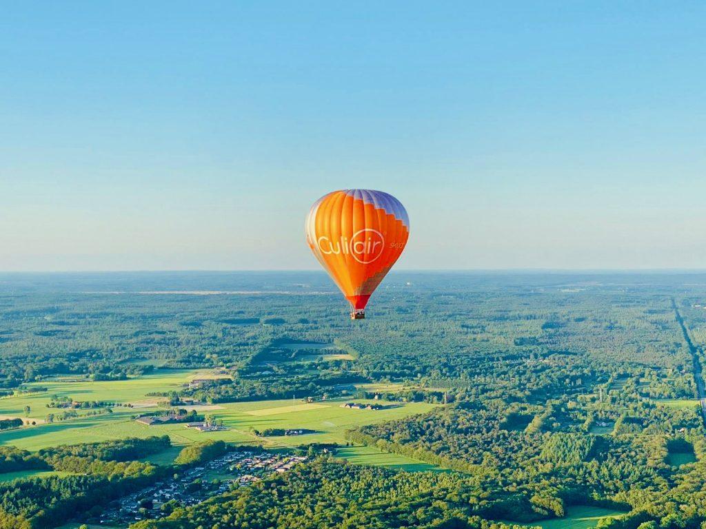 Ballonvaart overrijssel landschap