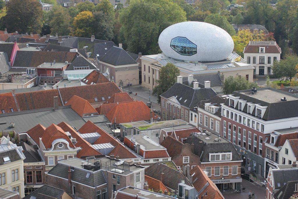 Museum de Fundatie vanuit lucht
